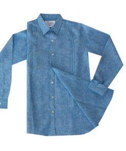 Camisa calado lino